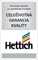 Hettich - Celoživotní garance